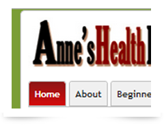 screenshot of anneshealthplace.com