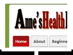 screenshot of anneshealthplace.com