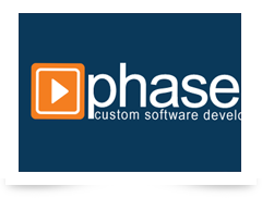 screenshot of Phase Alpha logo